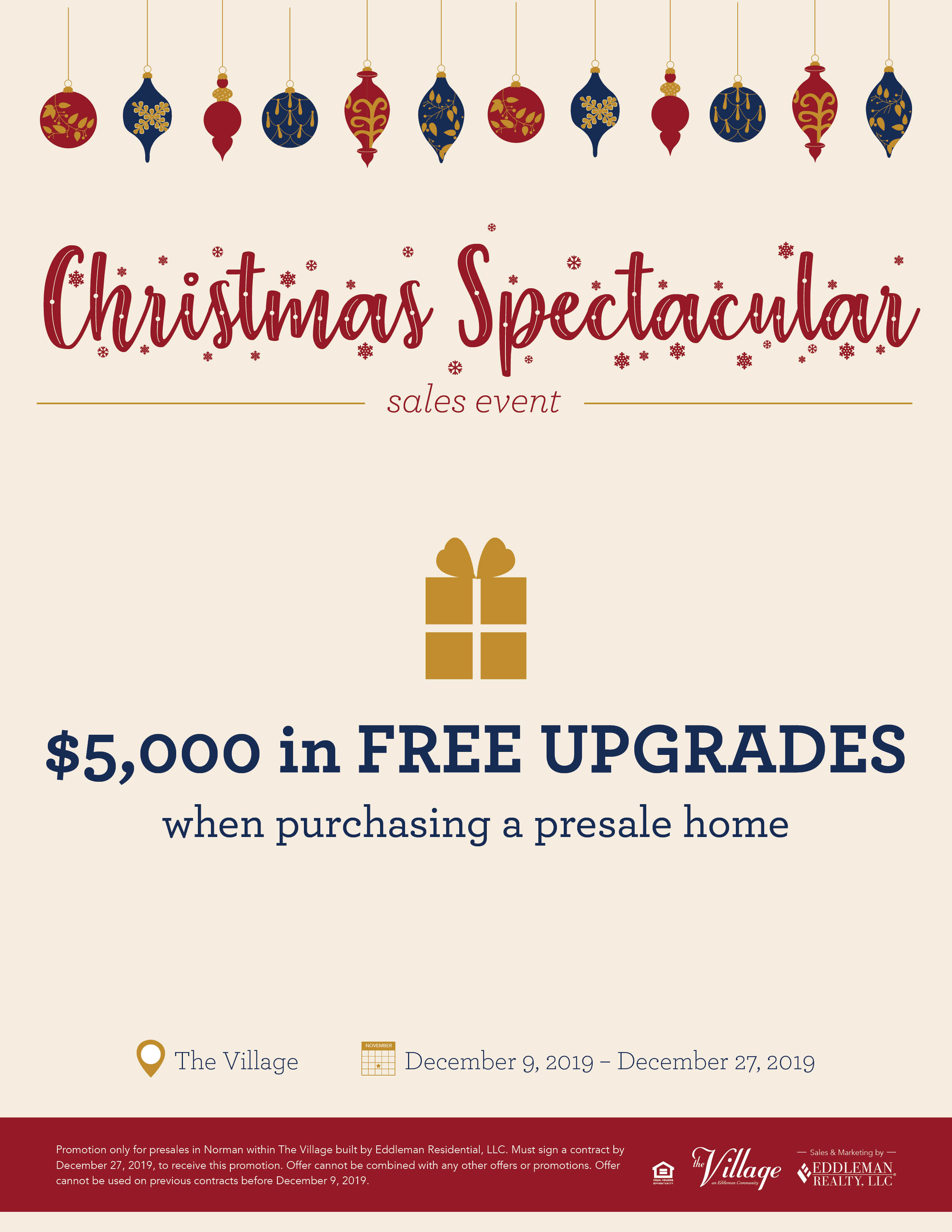 2019 Christmas Spectacular Sales Event3
