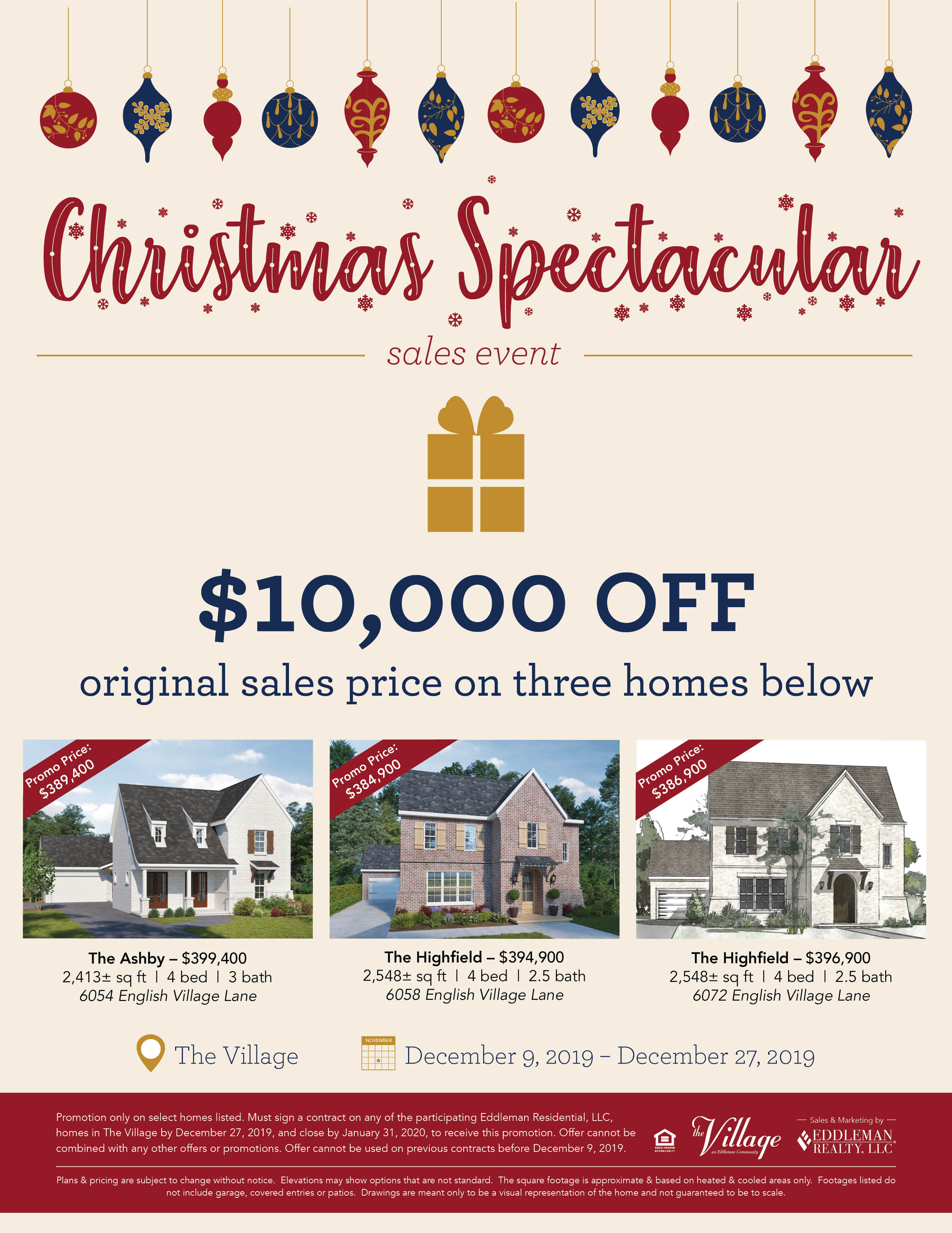 2019 Christmas Spectacular Sales Event4