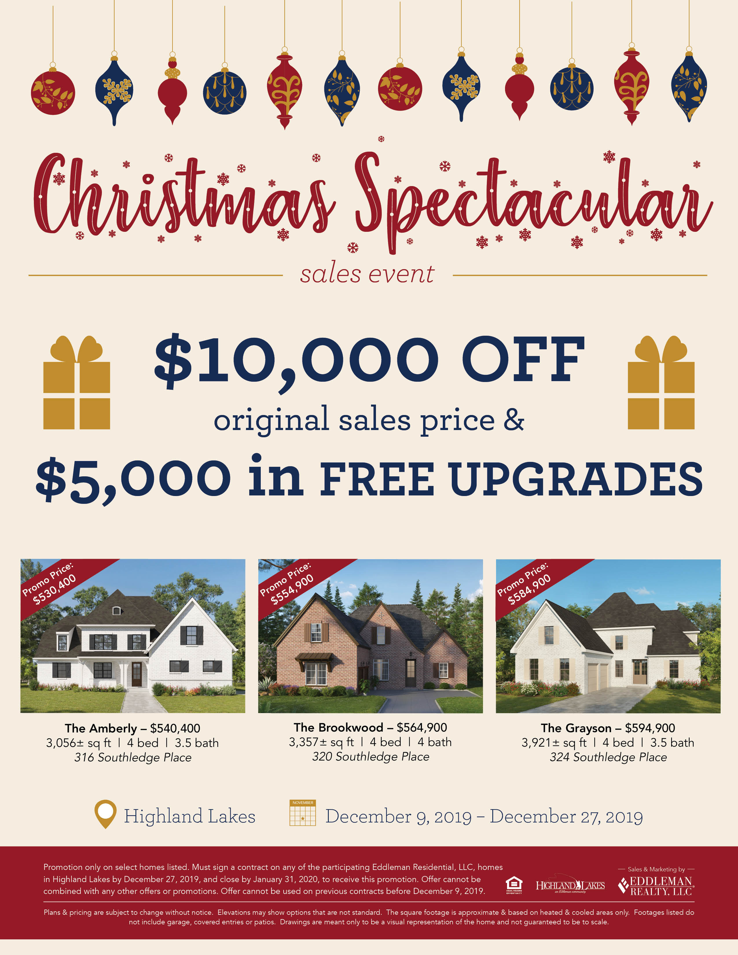 2019 Christmas Spectacular Sales Event5