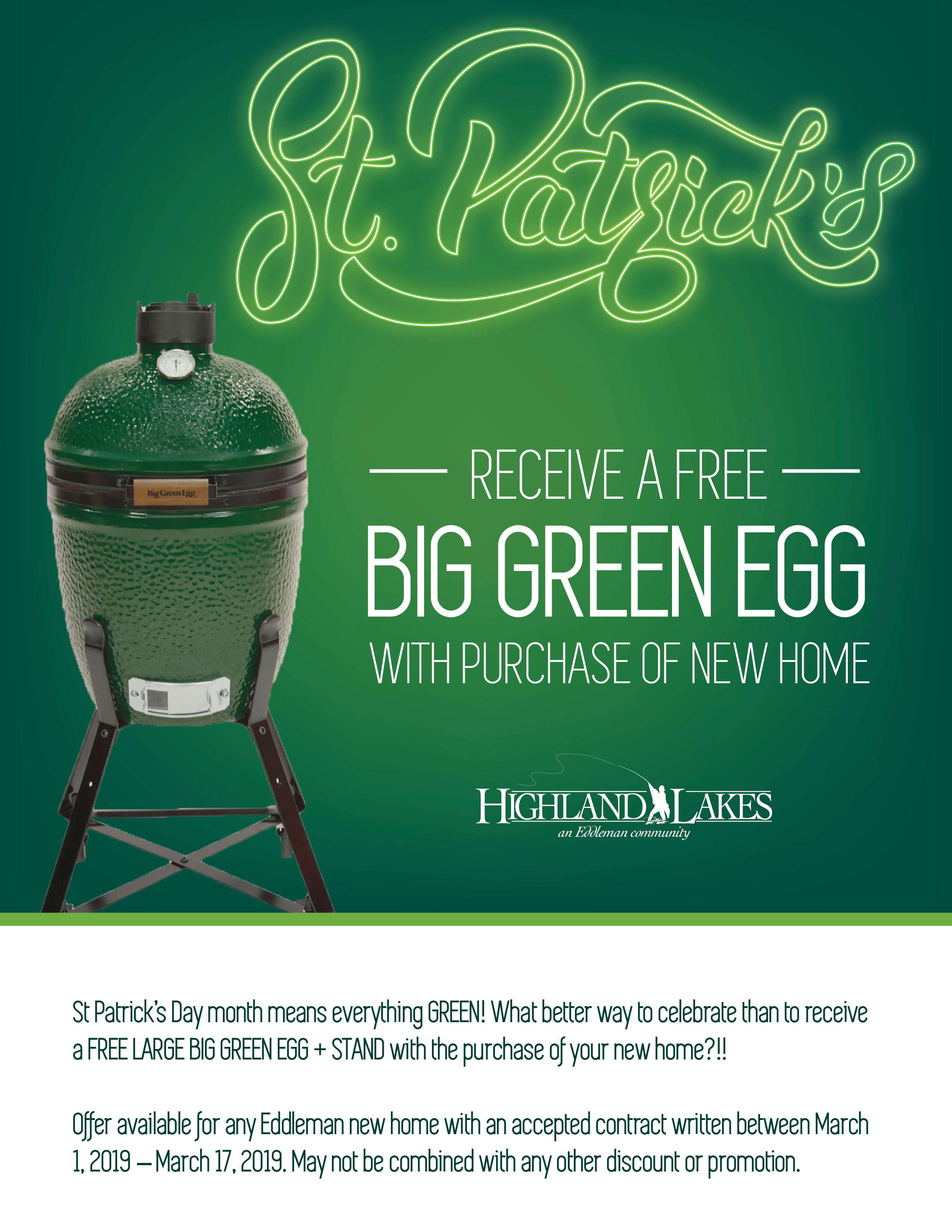 St Patricks Promo Flyer3 web